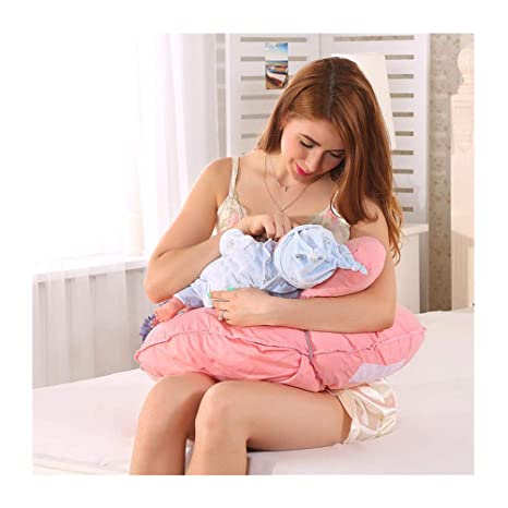 JFMBJS Almohada de Lactancia para Embarazadas para Dormir ...