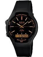 Casio Collection – Herren-Armbanduhr mit Analog/Digital-Display und Resin-Armband – AW-90H