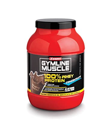 Enervit Gymline Muscle 100% Whey Protein Concentrate 700g Cocoa