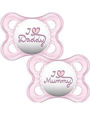 MAM estilo I Love Mummy y Daddy chupete _ Parent