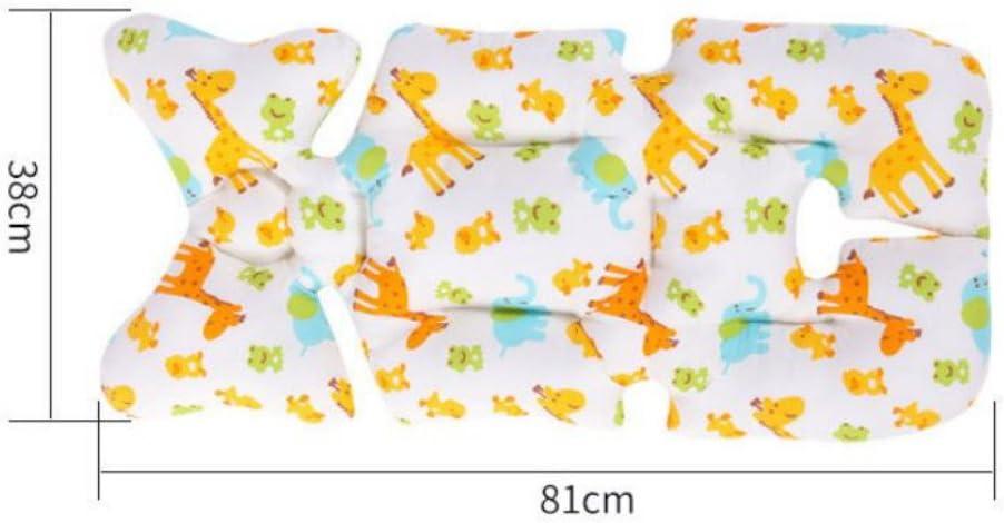 mesurant 38 x 81 cm Star Tokkids Coussin pour poussette de coton coussin rembourr/é pour poussette avec c/ôt/é /ét/é et c/ôt/é hiver prot/ège le si/ège de la poussette universelle