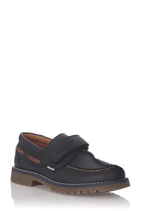 Pablosky, 667512, Nautico Marino de Niños, Talla 38: Amazon.es: Zapatos y complementos