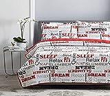 Comforter Sets on Sale Elaine Karen Deluxe Herringbone Reversible - 1800 Premium Bedding Collection - 3pc Coverlet Quilt Set Bedspread - Full/Queen Size - Relax Set