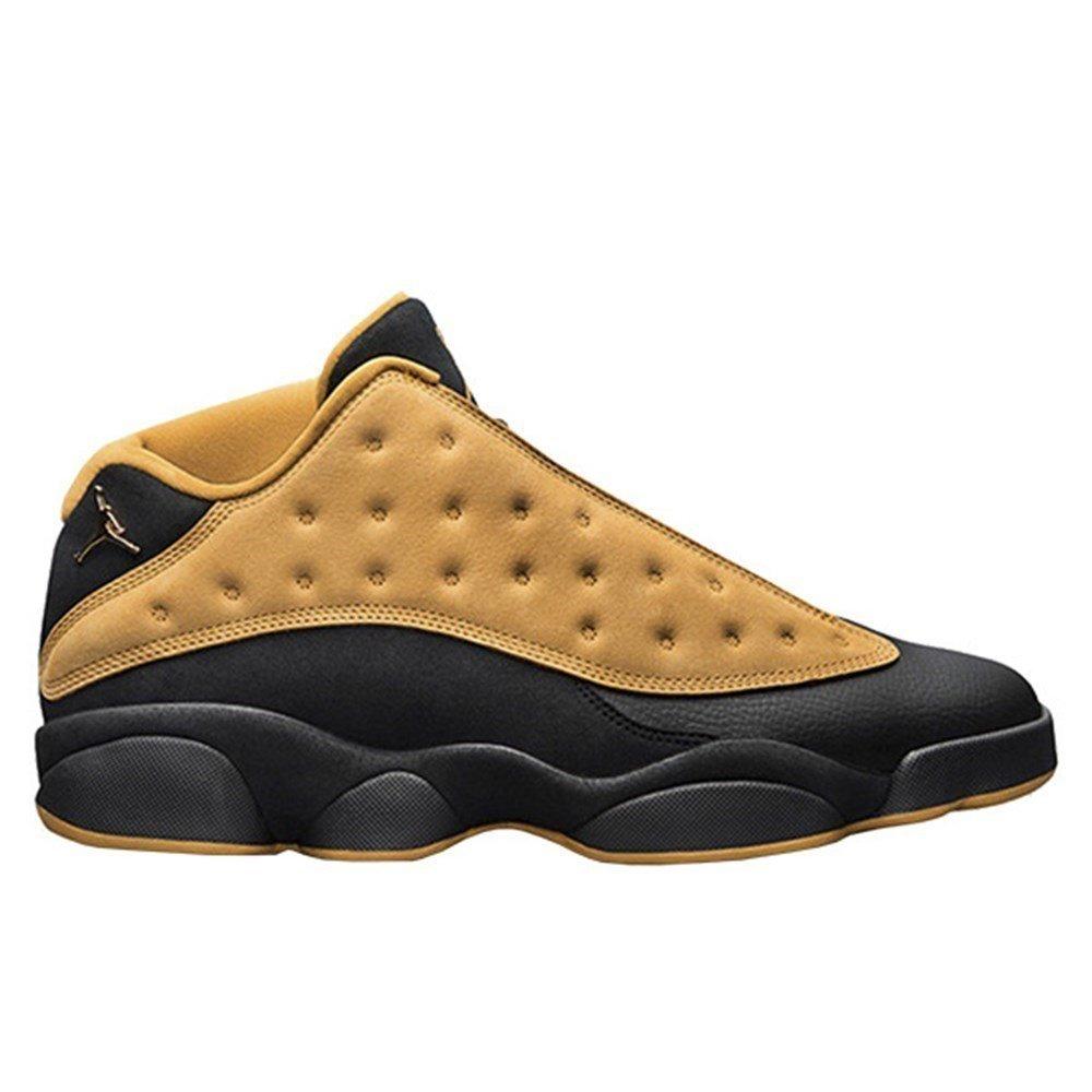 Nike Air Jordan XIII Low Retro GS - 310811022 - Color Black-Brown - Size: 3.5