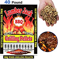 Lumber Jack LJACK40-Blend 5086 40-Pound BBQ Grilling Wood Pellets, Competition Blend made by  fabulous Lumber Jack