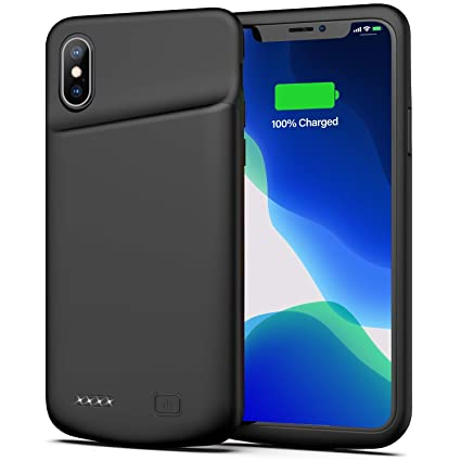Amazon.com: Funda de batería para iPhone X/XS, 4000 mAh ...