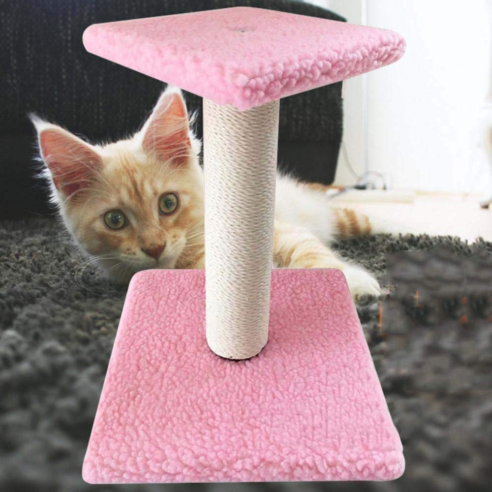 Axiba Play Towers Trees for Cats Cat Climbing Mini Cat grab pillar cat climbing frame cat pillar cat tree cat rack grinding claw CAT Scratch plate cat toy 30cm 30cm  32cm