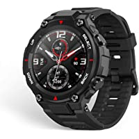 Amazfit A1919 T-rex Smartwatch 1.3 Inch Round AMOLED Screen 14 Sports Modes 5ATM Water Resistant GPS Positioning - Rock…
