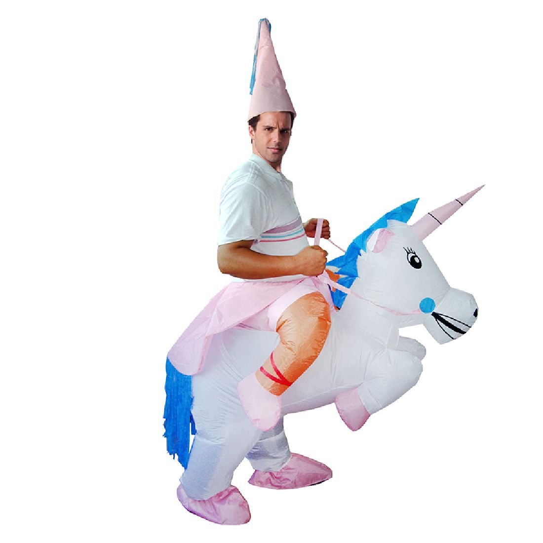 Inflatable Costume Unicorn Pegasus Costumes Princess Outfit Carnival Suit