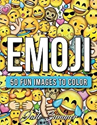 Emoji: A Coloring Book with 50+ Emoji Designs, Funny Emoji Doodles, and Inspirational Emoji Themes