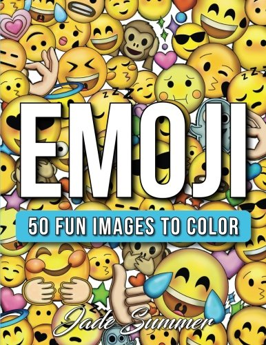 Emoji: A Coloring Book with 50+ Emoji Designs