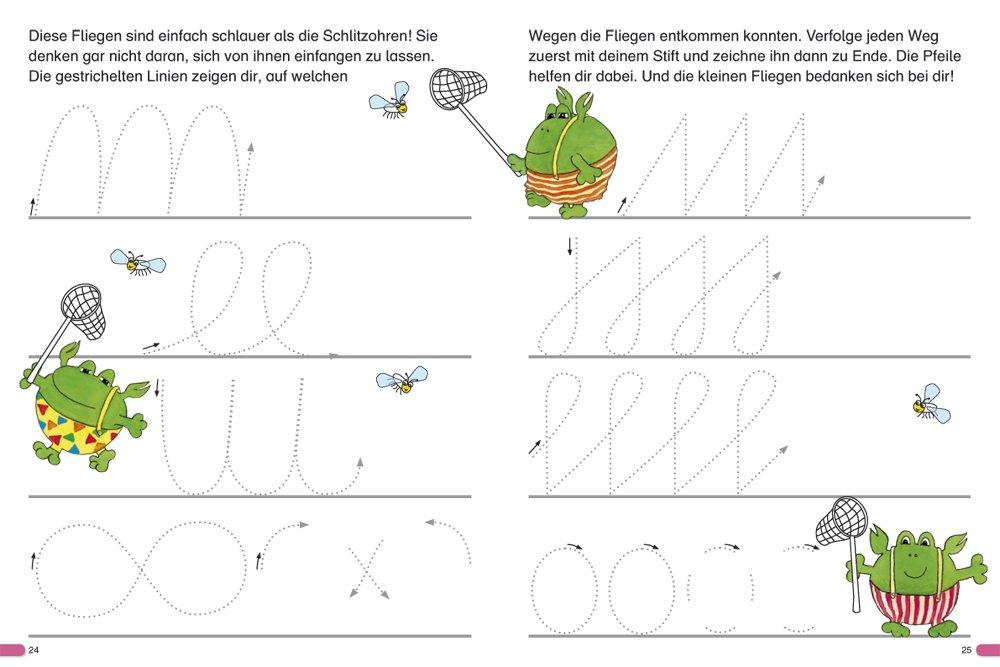 Fragenbär Vorschule: Schwungübungen zur Feinmotorik Lerne mehr mit ...