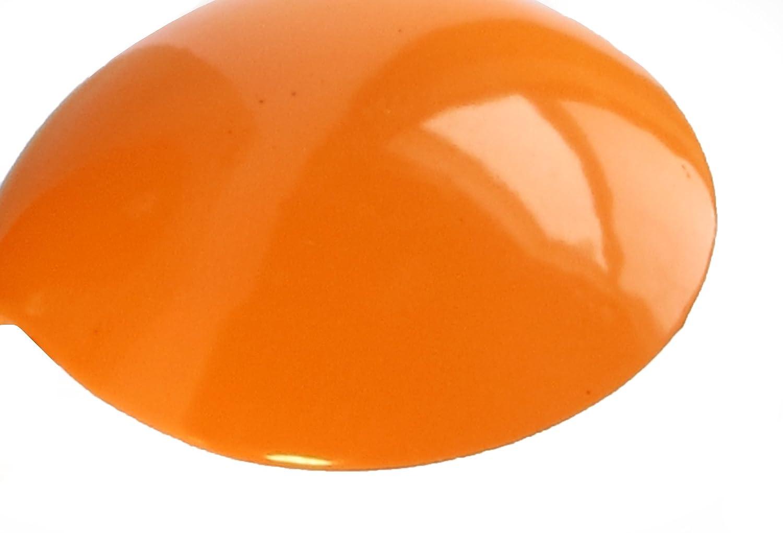SmartHook ColorZ Garment Friendly Double Coat Hook 2 Pack, Tangerine Orange