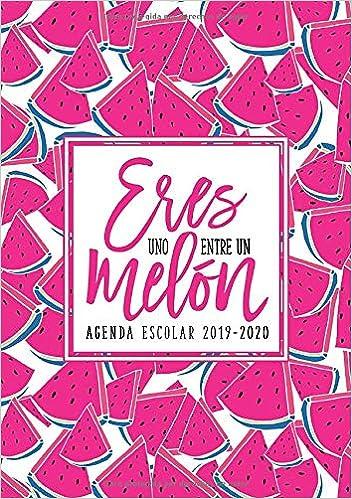 Amazon.com: Eres uno entre un melón: Agenda escolar 2019 ...