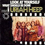 Uriah Heep - Look At Yourself - Island Records - 10 429 AT, Bronze - 10 429 AT