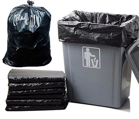 Bolsas de basura, 7-65 Por Galón, grandes Negro bolsas de ...