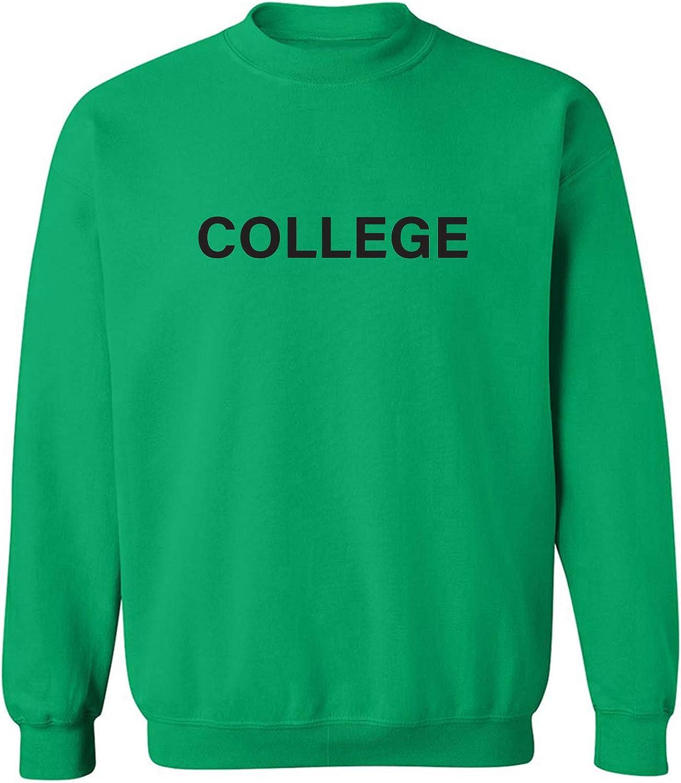 zerogravitee College Crewneck Sweatshirt