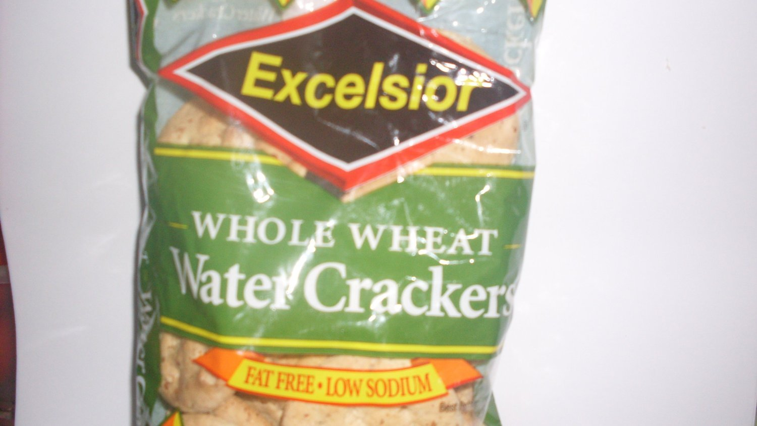 Excelsior Jamaican whole wheat Water Crackers, 5.04oz (Pack of 24)