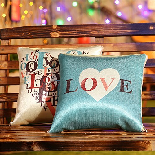 Ice Silk Cartoon Pillow Cushion Used by Two of the Summer Afternoon Nap by Children by a Car Headrest Air-Conditioning ,4040,Love,Love,5050 (China Special Stamp)