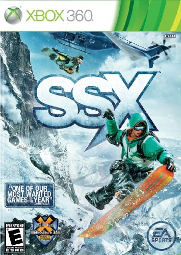 SSX - Xbox 360 (Best Non Violent Games)