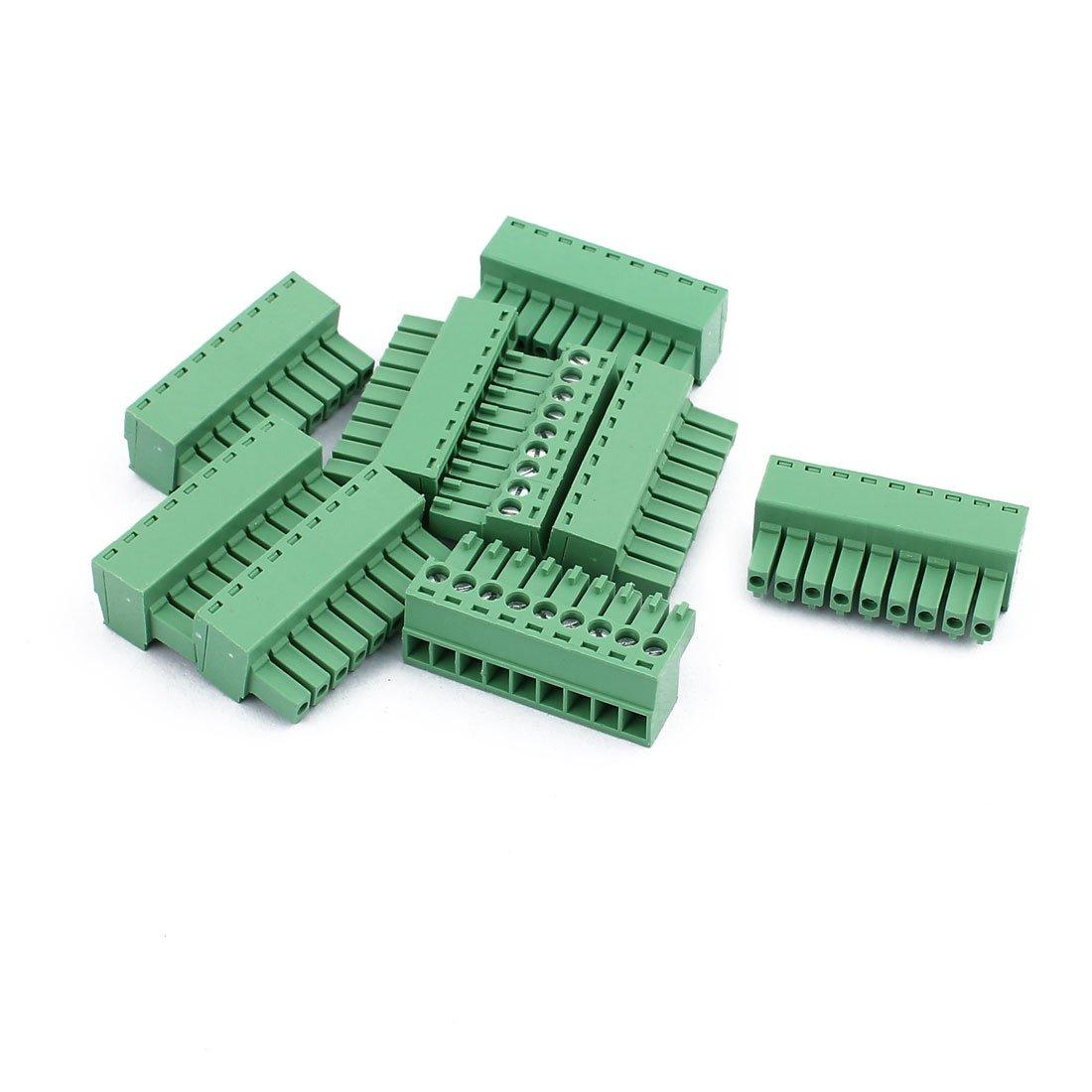 5Pcs 300V KF2EDGK 3.5mm Pitch 16-Pin PCB Screw Terminal Block Connector