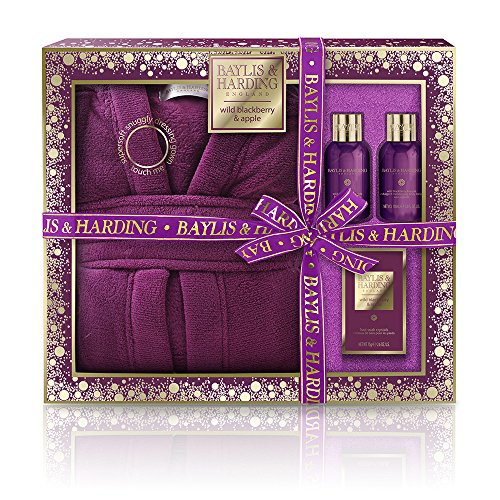 Apple Blackberry - Baylis & Harding Wild Blackberry & Apple Luxury Dressing Gown Set