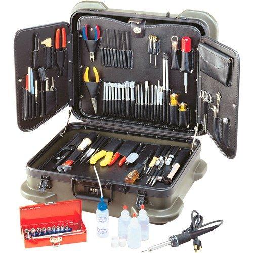 Jensen Tools - JTK-99R - Electronic Technician's Service Kit in Rugged Duty Poly Case by Jensen