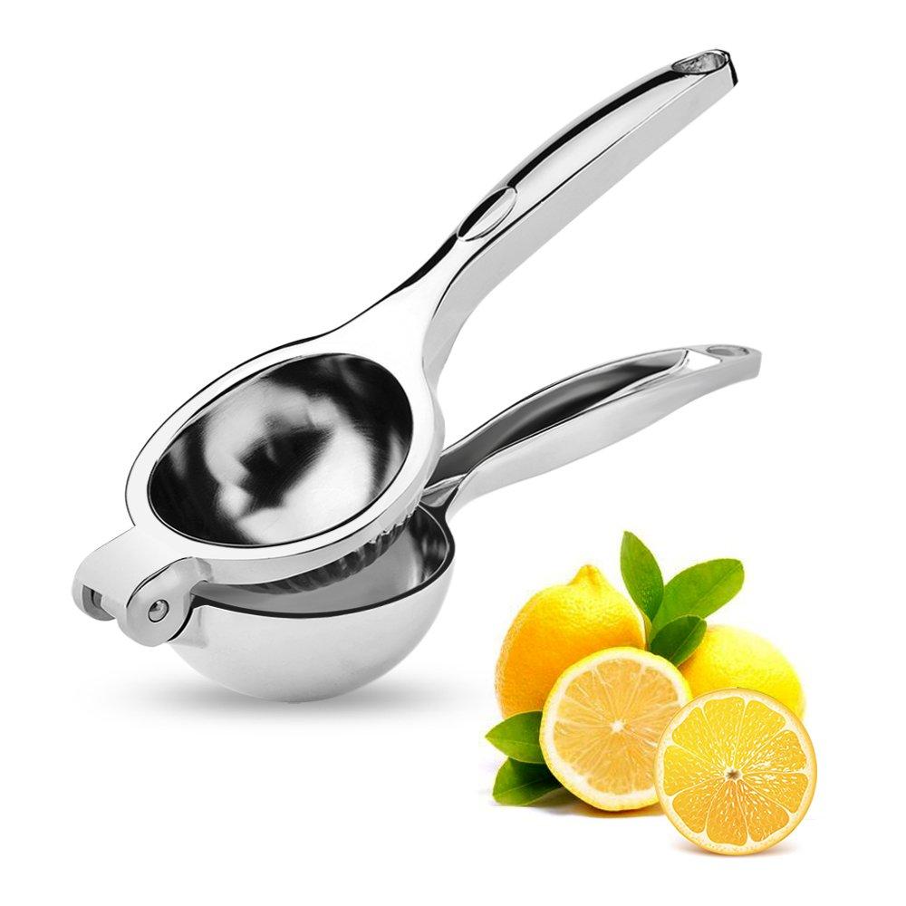 手動Lemon Squeezer、携帯型Citrus Juicer – 押しSqueezeジューサーレモン、ライム、オレンジProfessionalのキッチンツール B07DRKDXXM