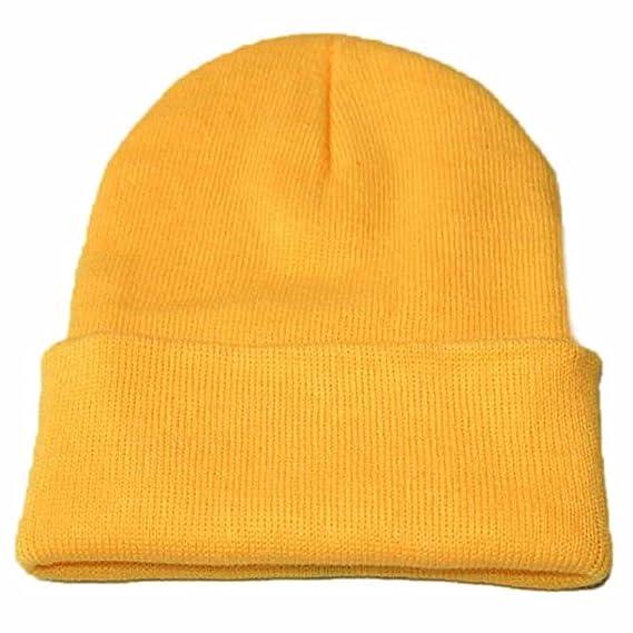 QinMM Sombrero De Punto Unisex 7efd01c376f