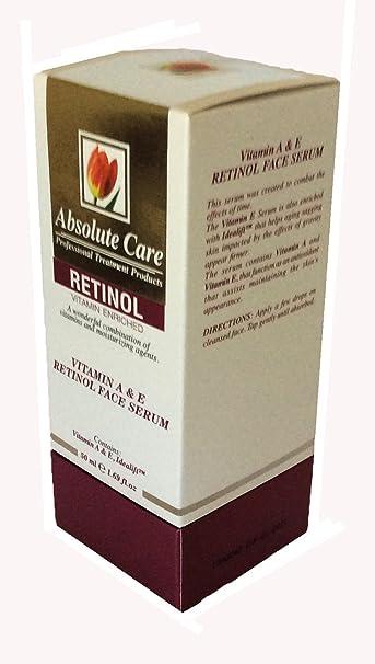 Absolute Care Professional Treatment Retinol Vitamin A & E Face Serum