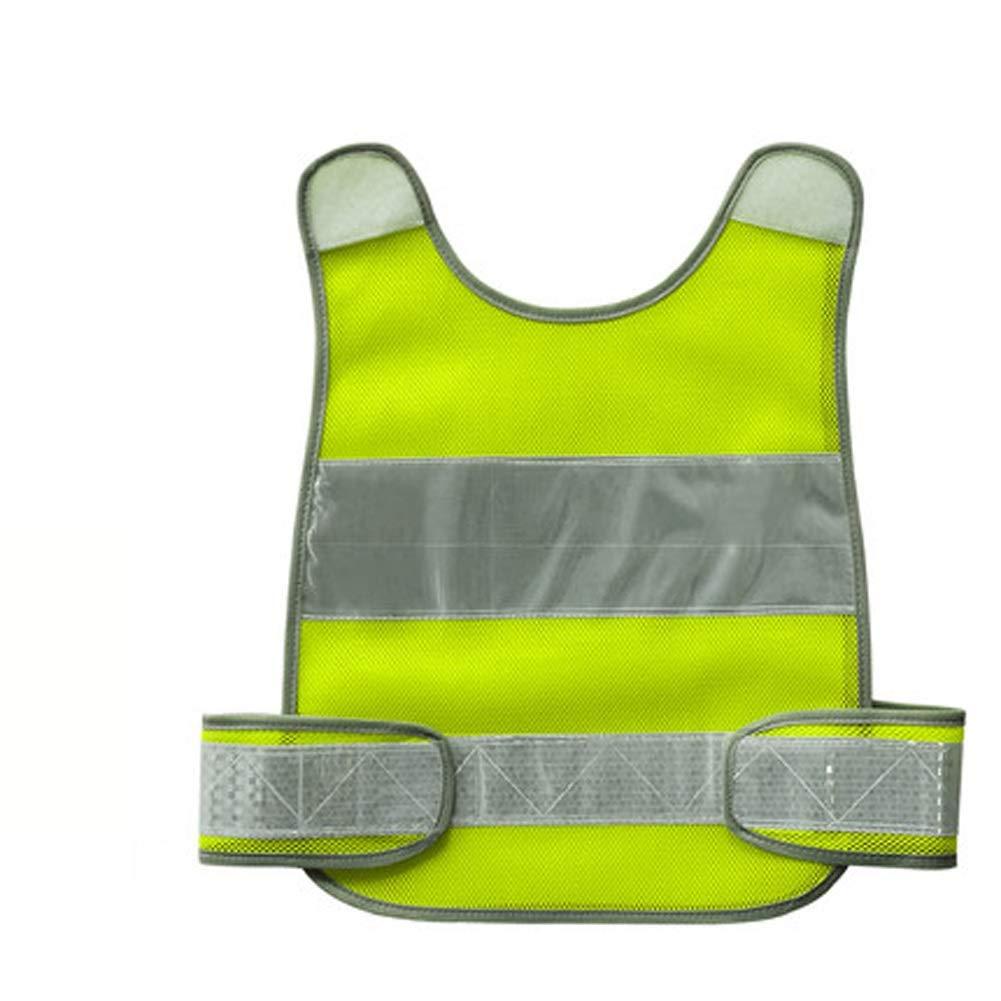 RYYAIYL Children Safety Vest Waistcoat Fluorescent ClothesStrips for Cycling, Running, Jogging (Color : B)