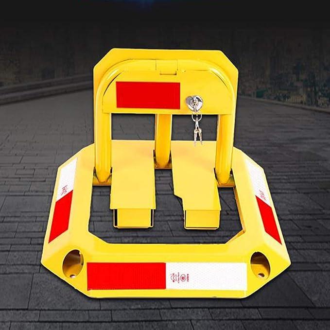 LJFYMX parking post Folding parking obstacle detachable parking space lock T-type parking interceptor Parking barrier