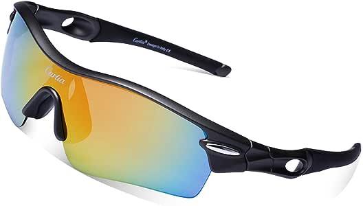 Gafas de Sol Deportivas Polarizadas, Carfia TR90 UV400