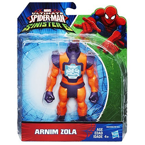 Ultimate Spider-Man Sinister Six 5 inches Action Figure Animu Zola / ULTIMATE SPIDER-MAN VS SINISTER 6 ARNIM ZOLA [parallel import goods] Marvel MARVEL