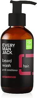 product image for Every Man Jack Beard Wash, Cedarwood, 4 Fluid Ounce