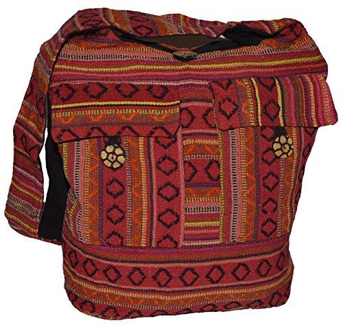 Damentaschen , Borsa Messenger  Uomo rosso Rot