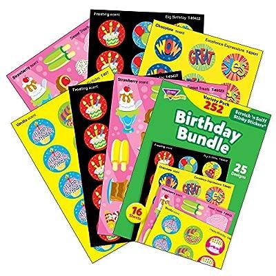 TREND enterprises, Inc Birthday Bundle Stinky Stickers Variety Pack, 252/Pack: Industrial & Scientific