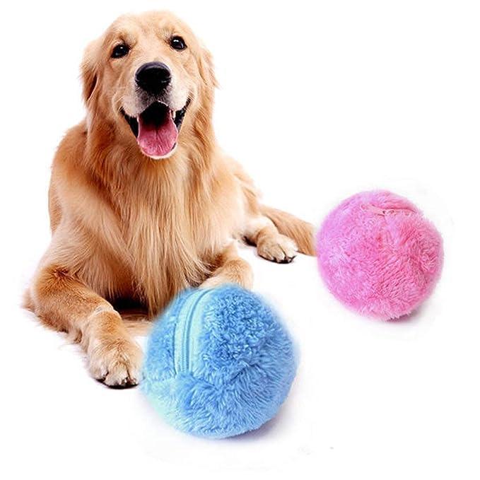 JullyeleESgant Suministros de Limpieza para el hogar Bola de activación para Mascotas Juguete de Felpa Piso Limpio Gato Perrito Perro Juguetes Aspirador ...