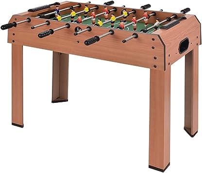 Mesa de futbolín Costway, de 94 cm, regalo de Navidad, juego de ...