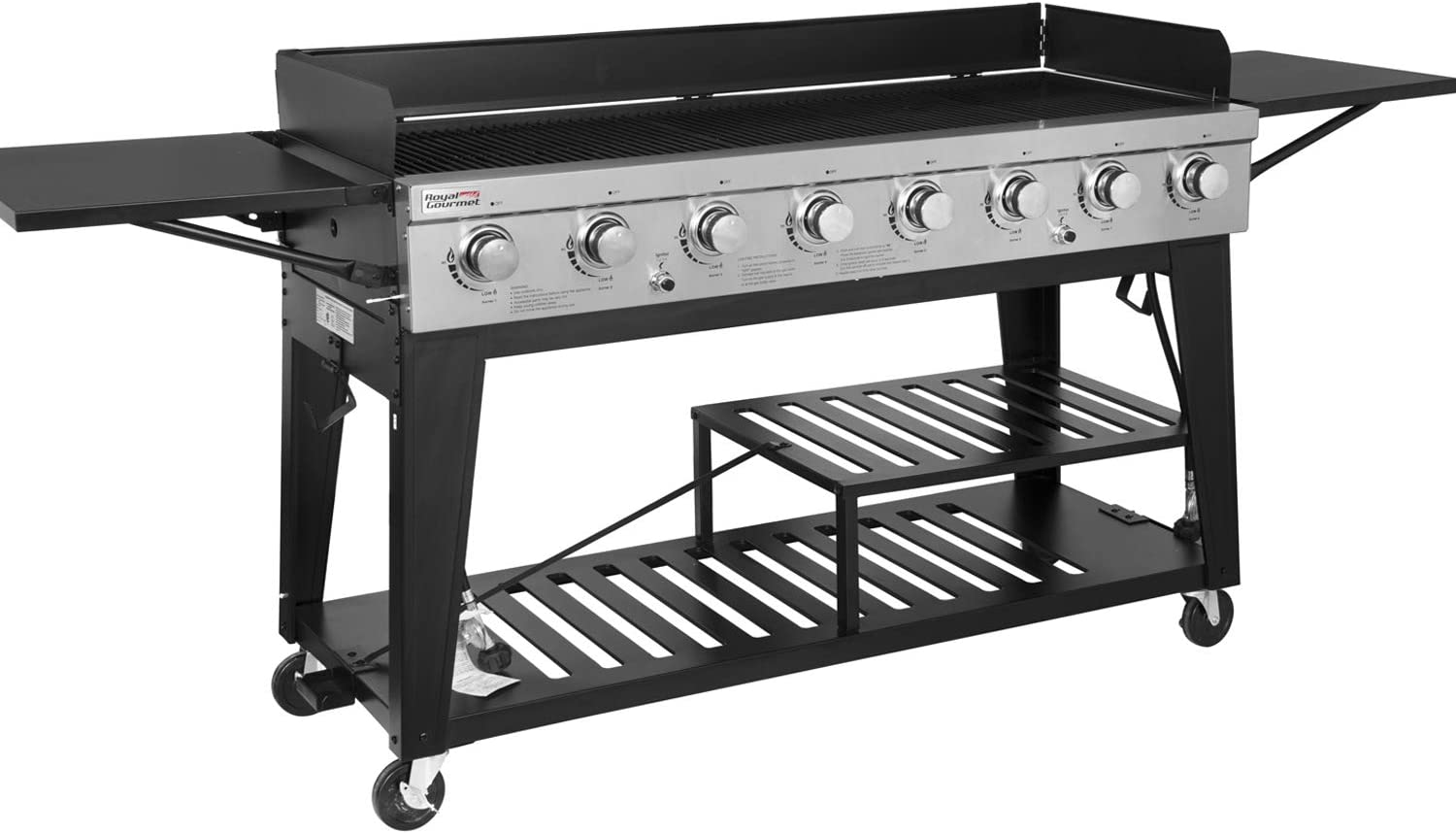 Royal Gourmet GB8000 8-Burner Liquid Propane Event Gas Grill review