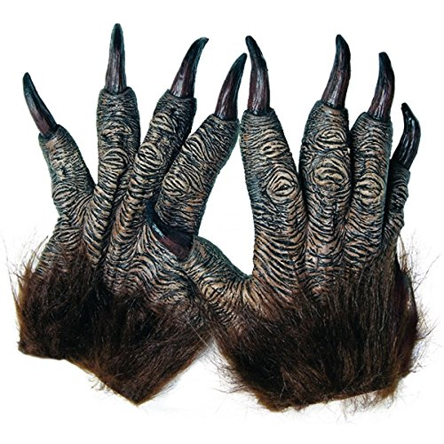 [Wolfman Hands Costume Accessory Adult Halloween] (Halloween Costume Ideas 2016 Men)