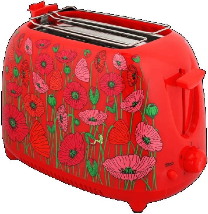 Pylones Toaster TartIn Coquelicots