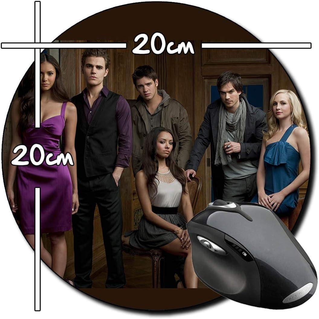 Cronicas Vampiricas The Vampire Diaries A Alfombrilla Redonda Round Mousepad PC: Amazon.es: Electrónica