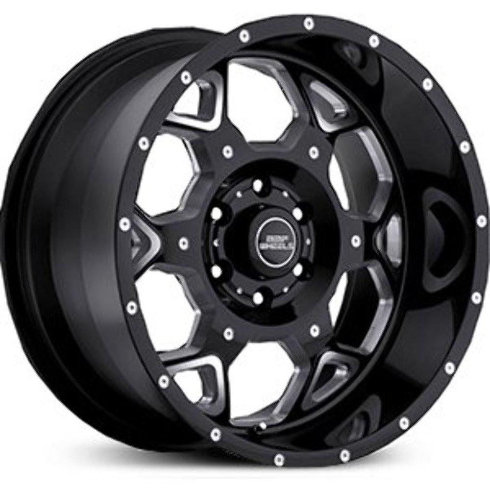 BMF Wheels S.O.T.A Death Metal Black - 20 x 9 Inch Wheel