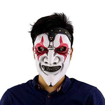 Amazon.com : Scary Clown Mask Masque Payday Party Halloween Mask For Party Mascara Carnaval Silicone Female Masks Men Masquerade 6 : Beauty