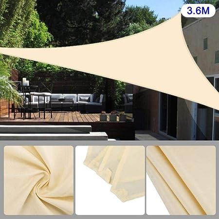 DGJEL Toldo Impermeable para jardín, Patio, toldo con protección UV para Acampar al Aire Libre, 3 m: Amazon.es: Hogar