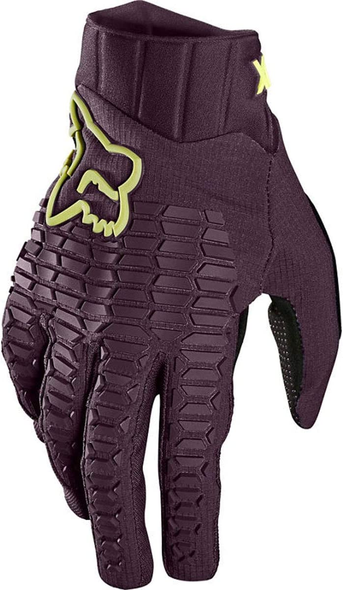 FOX Girls MTB-Handschuhe Defend Dunkelviolett