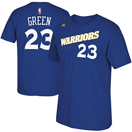 9cdbfc5a7 Draymond Green Golden State Warriors Blue Alternate Retro Jersey Name and  Number T-shirt Medium