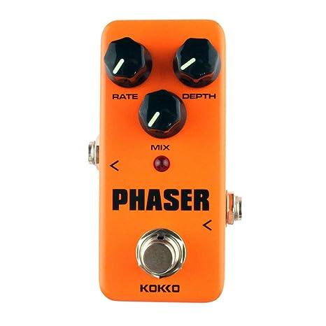 KOKKO FPH2 Phaser Mini Pedal de efectos de guitarra Procesador de ...