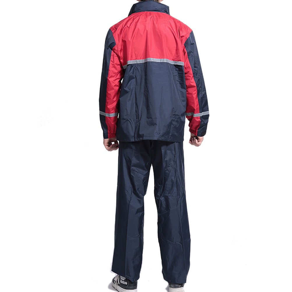 Zhhlinyuan Outdoor Fashion Adult Upscale Waterproof Raincoat Rain Pants Set:  Amazon.de: Bekleidung